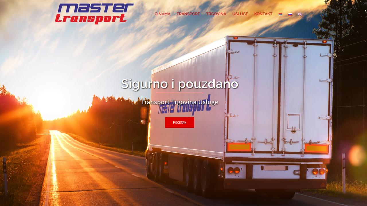 Master- transport | prevoz robe u domaćem i međunarodnom saobraćaju